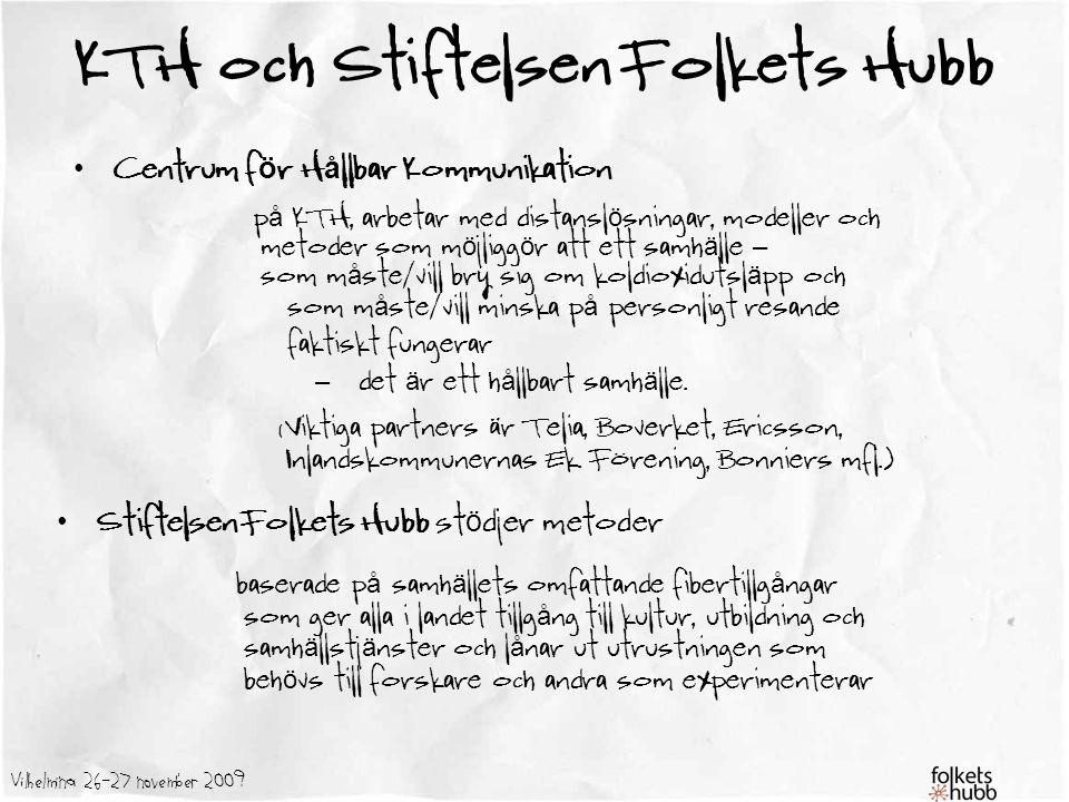 KTH och Stiftelsen Folkets Hubb