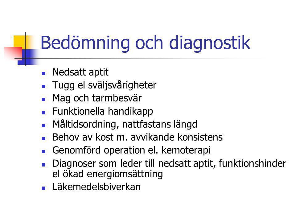 Bedömning och diagnostik