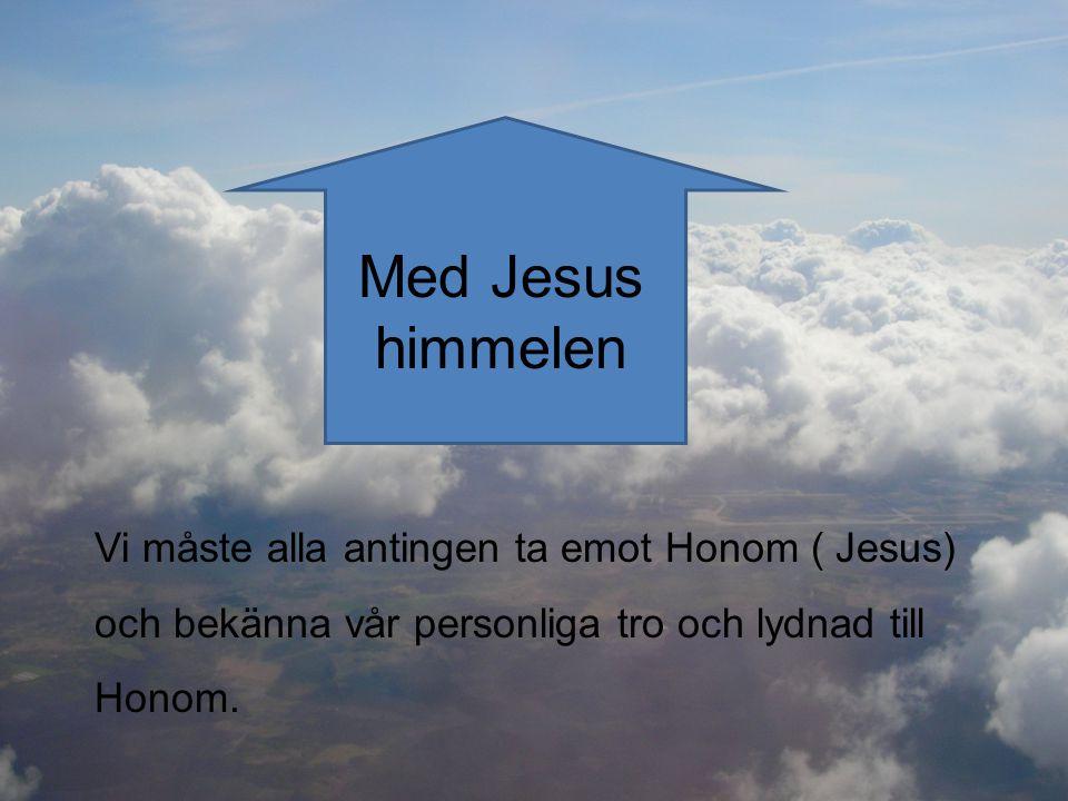 Med Jesus himmelen.