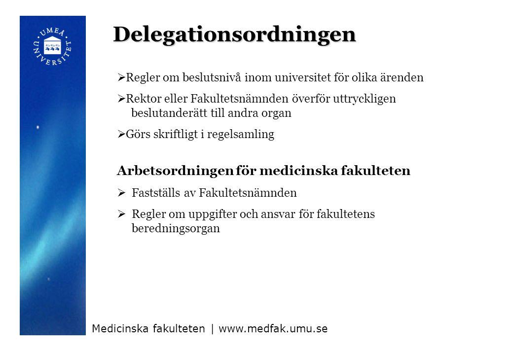 Delegationsordningen