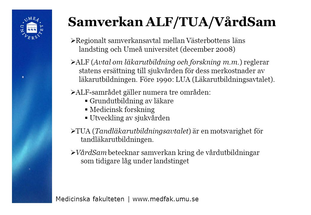 Samverkan ALF/TUA/VårdSam