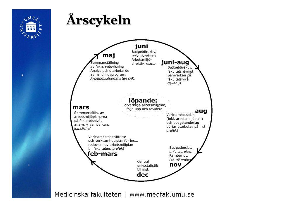 Årscykeln Medicinska fakulteten | www.medfak.umu.se