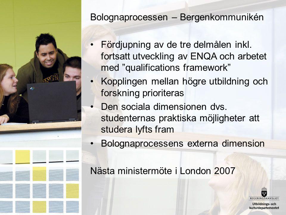Bolognaprocessen – Bergenkommunikén