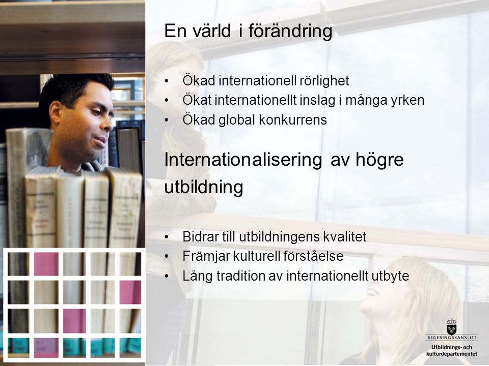 Internationalisering av högre utbildning