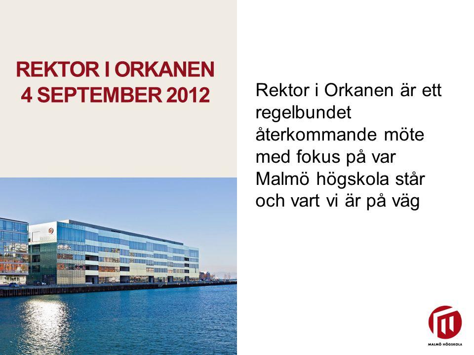 Rektor i Orkanen 4 september 2012