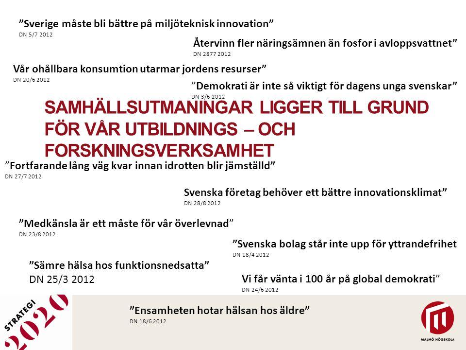 Sverige måste bli bättre på miljöteknisk innovation