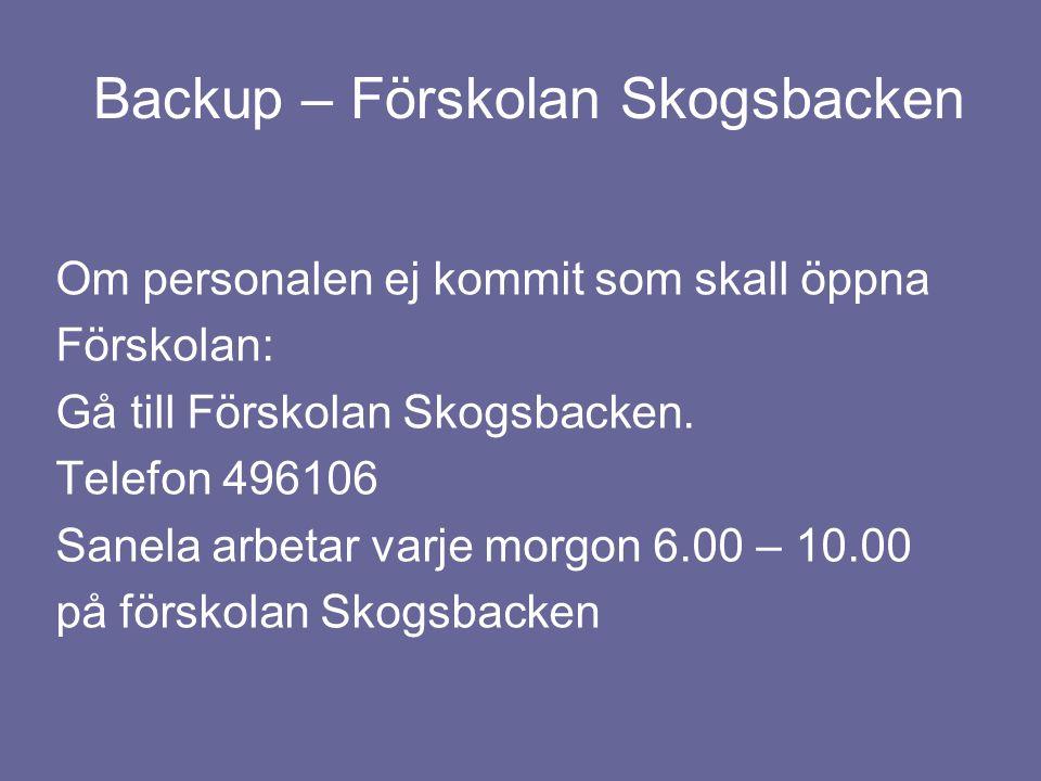 Backup – Förskolan Skogsbacken