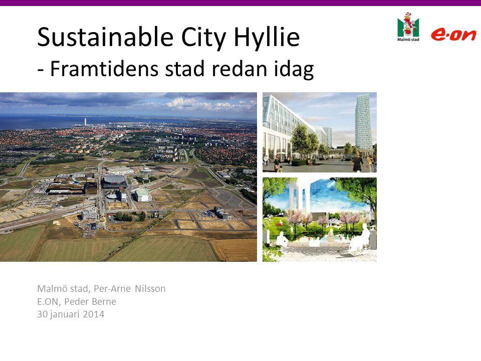 Sustainable City Hyllie - Framtidens stad redan idag