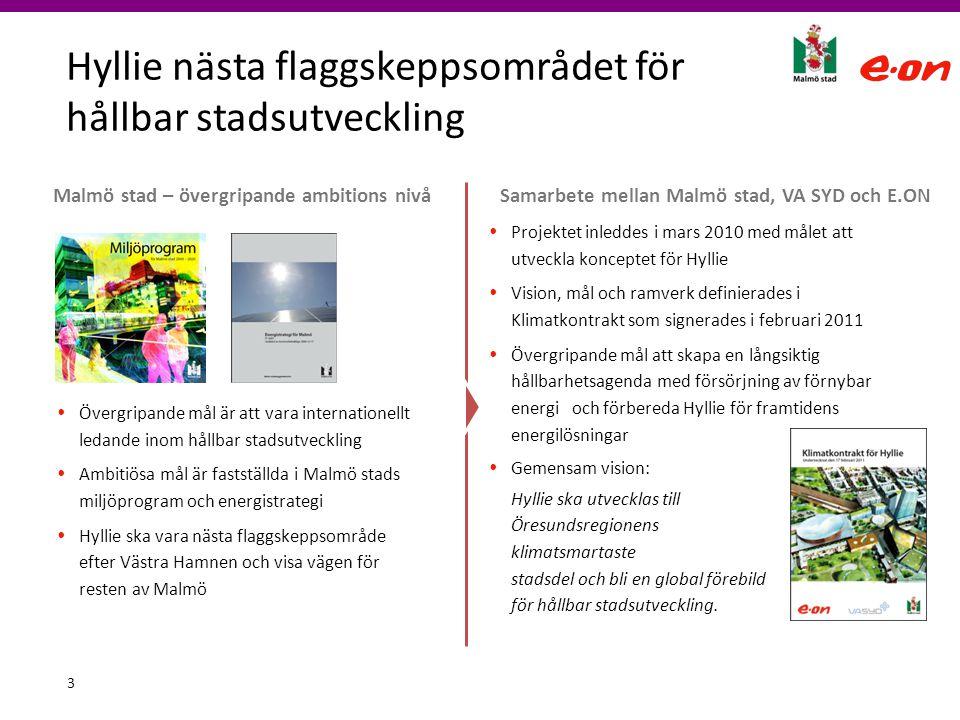 Hyllie nästa flaggskeppsområdet för hållbar stadsutveckling