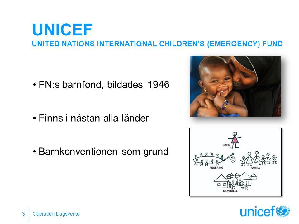 UNICEF United Nations International Children's (Emergency) Fund