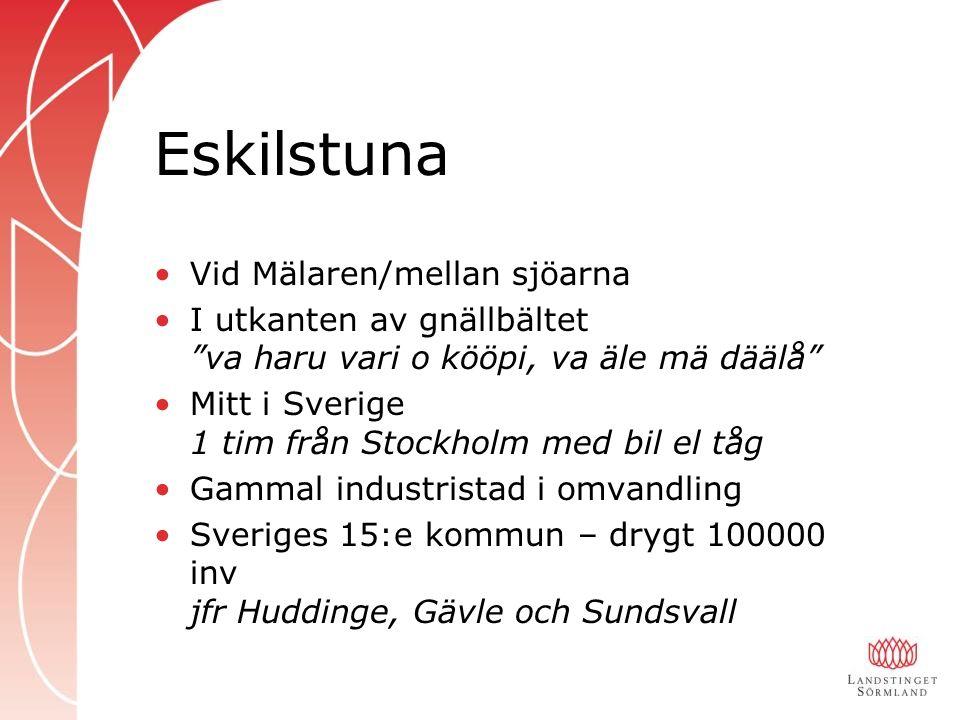 Eskilstuna Vid Mälaren/mellan sjöarna