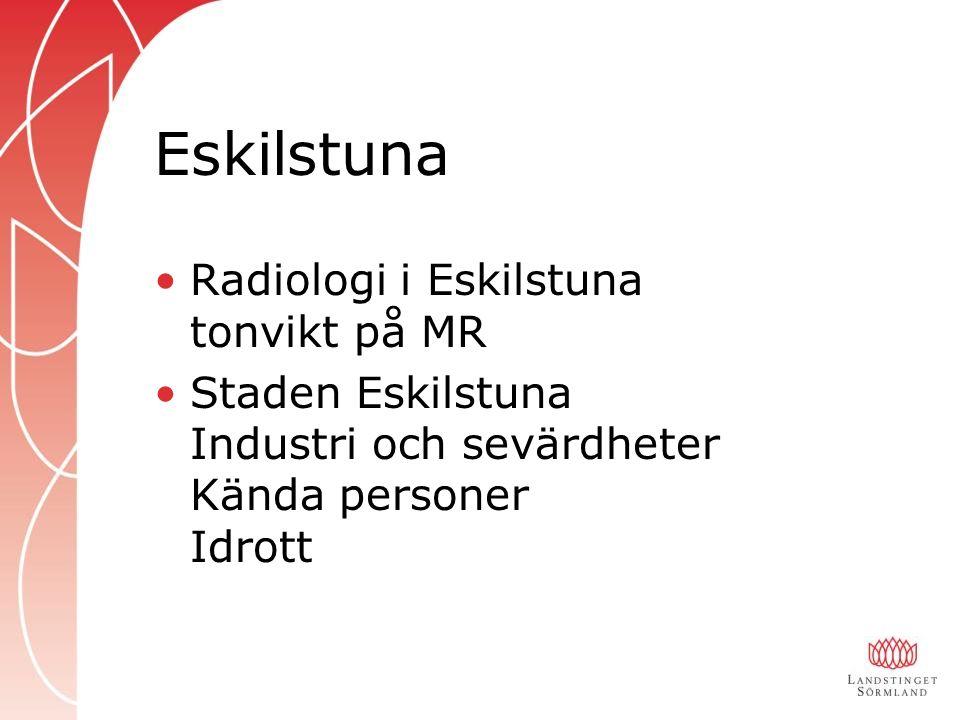 Eskilstuna Radiologi i Eskilstuna tonvikt på MR