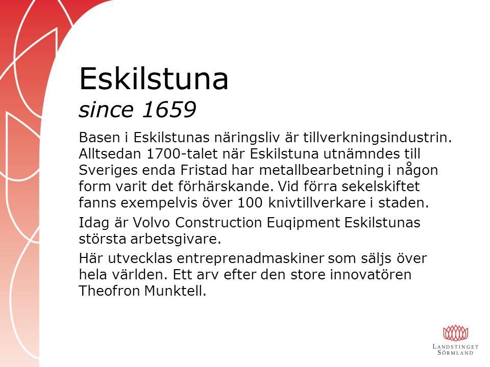 Eskilstuna since 1659