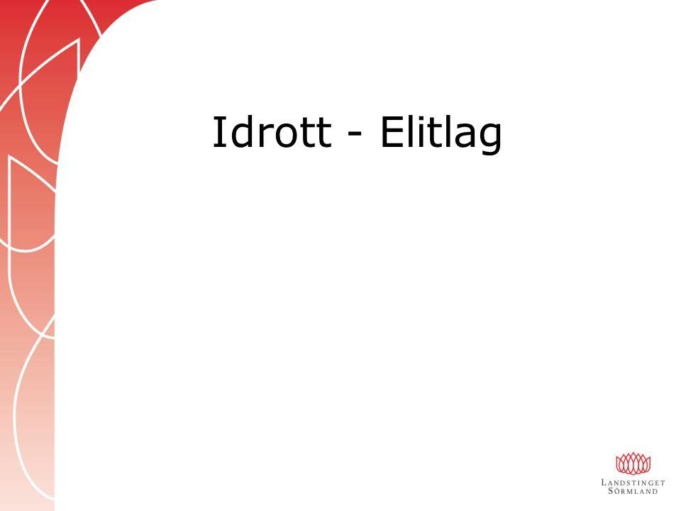 Idrott - Elitlag