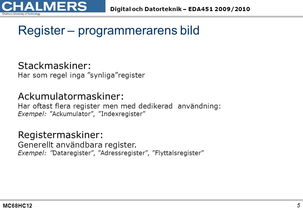 Register – programmerarens bild