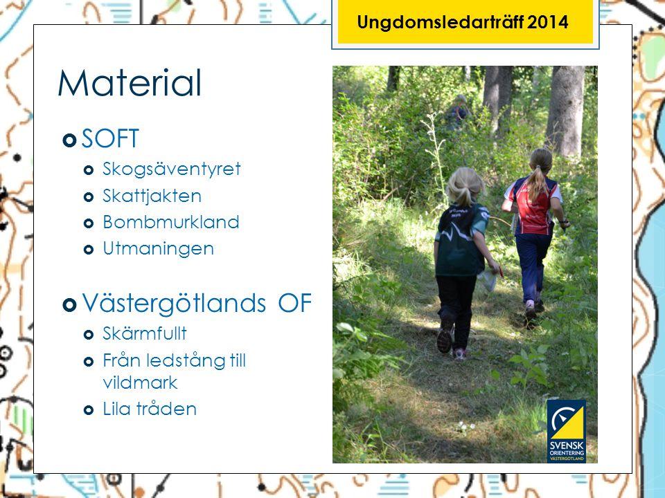 Material SOFT Västergötlands OF Ungdomsledarträff 2014 Skogsäventyret
