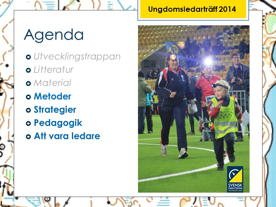 Agenda Utvecklingstrappan Litteratur Material Metoder Strategier