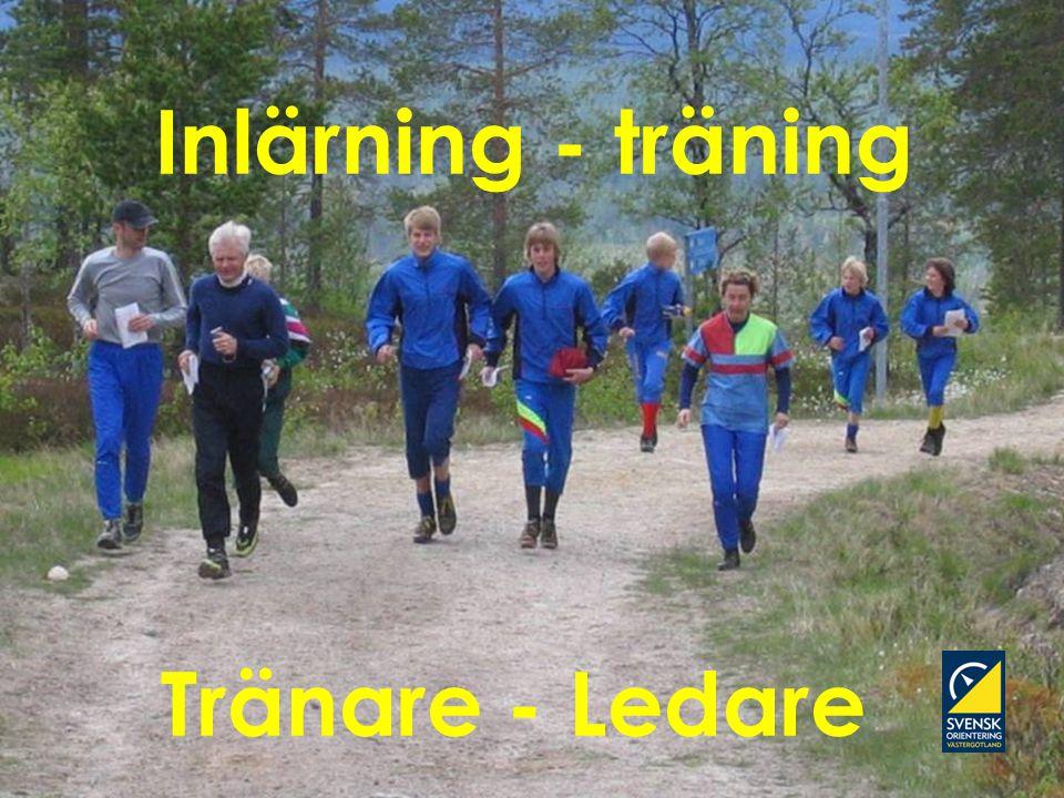 Inlärning - träning Tränare - Ledare