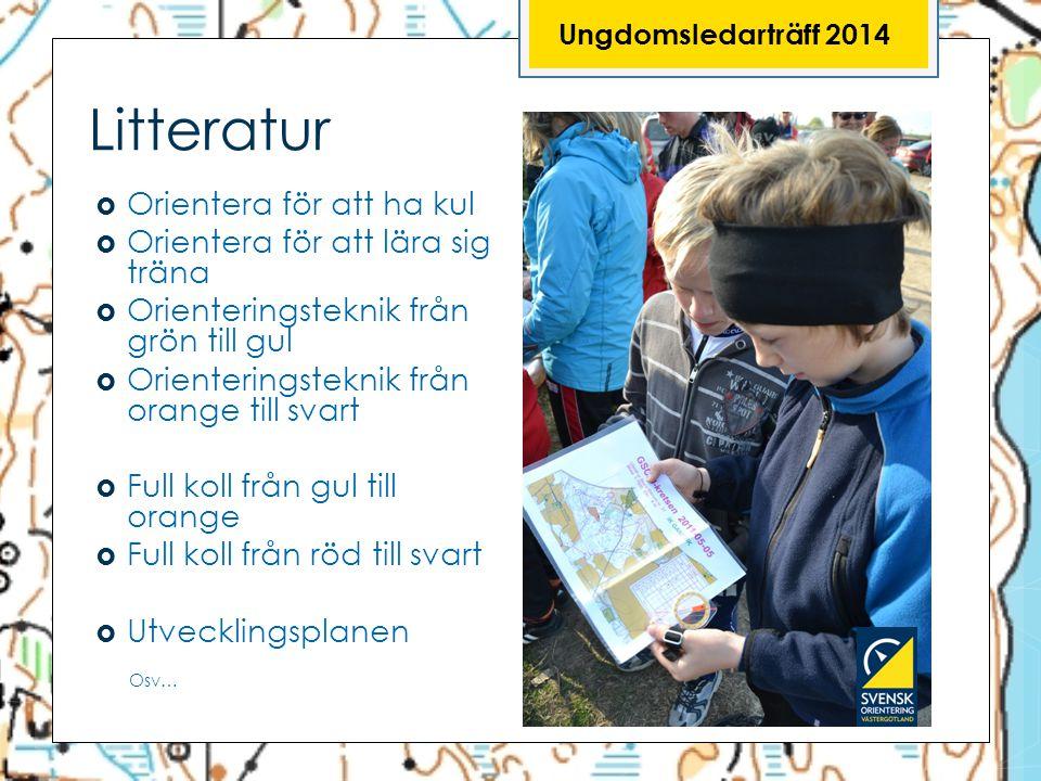 Litteratur Orientera för att ha kul Orientera för att lära sig träna