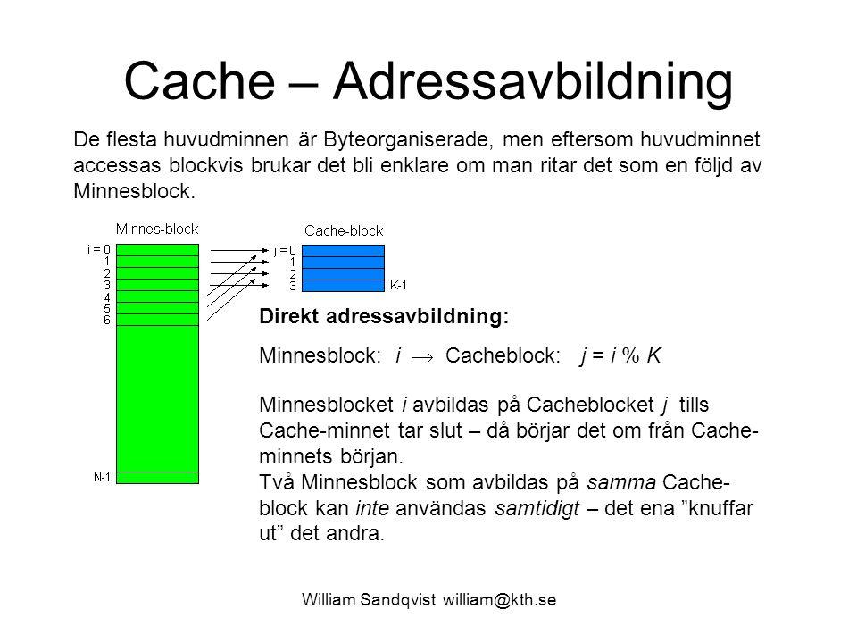 Cache – Adressavbildning