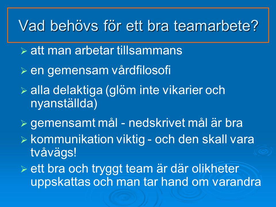 Vad behövs för ett bra teamarbete