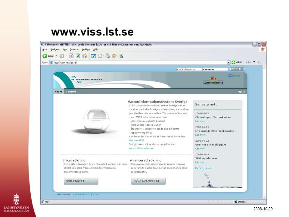 www.viss.lst.se Klicka på bilden för att komma till webbversionen