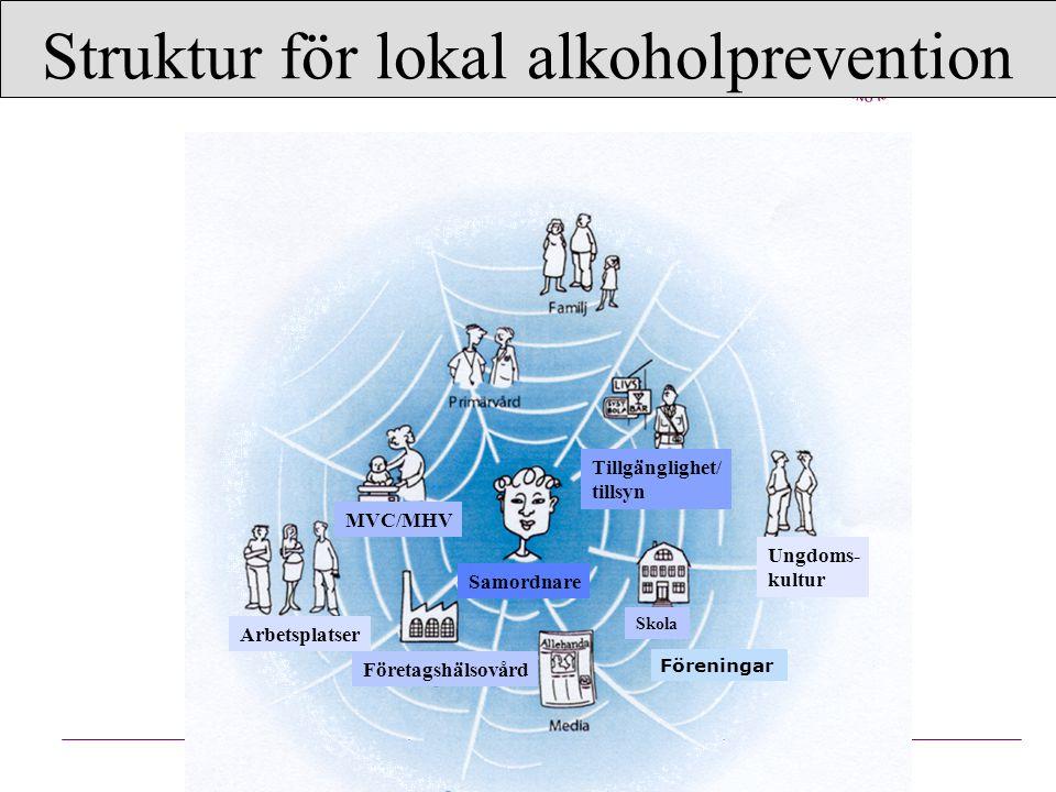 Struktur för lokal alkoholprevention