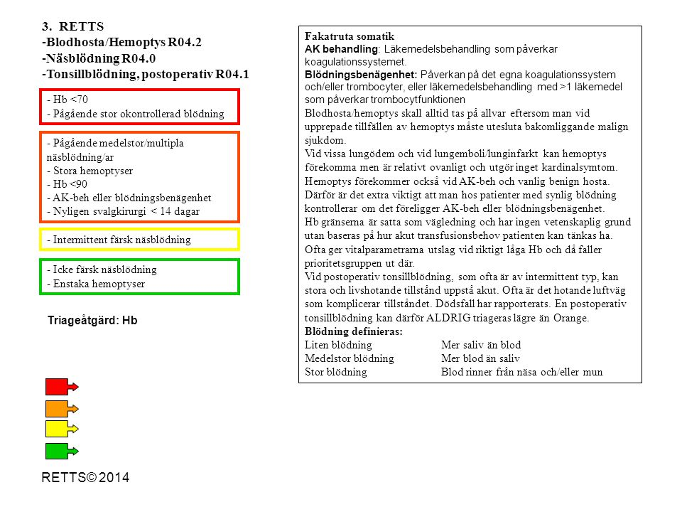 Tonsillblödning, postoperativ R04.1