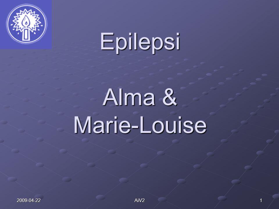 Epilepsi Alma & Marie-Louise