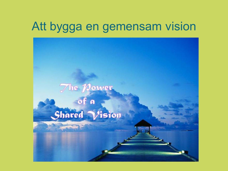 Att bygga en gemensam vision