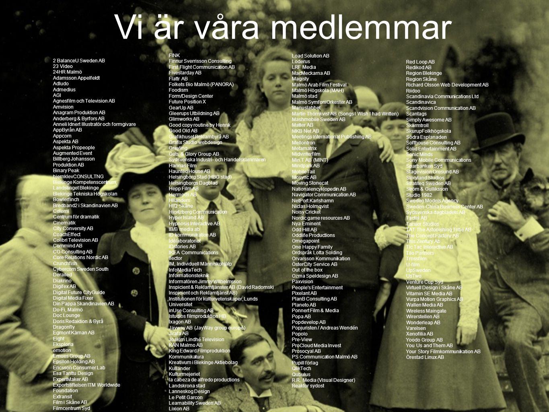 Vi är våra medlemmar FINK Finnur Sverrisson Consulting