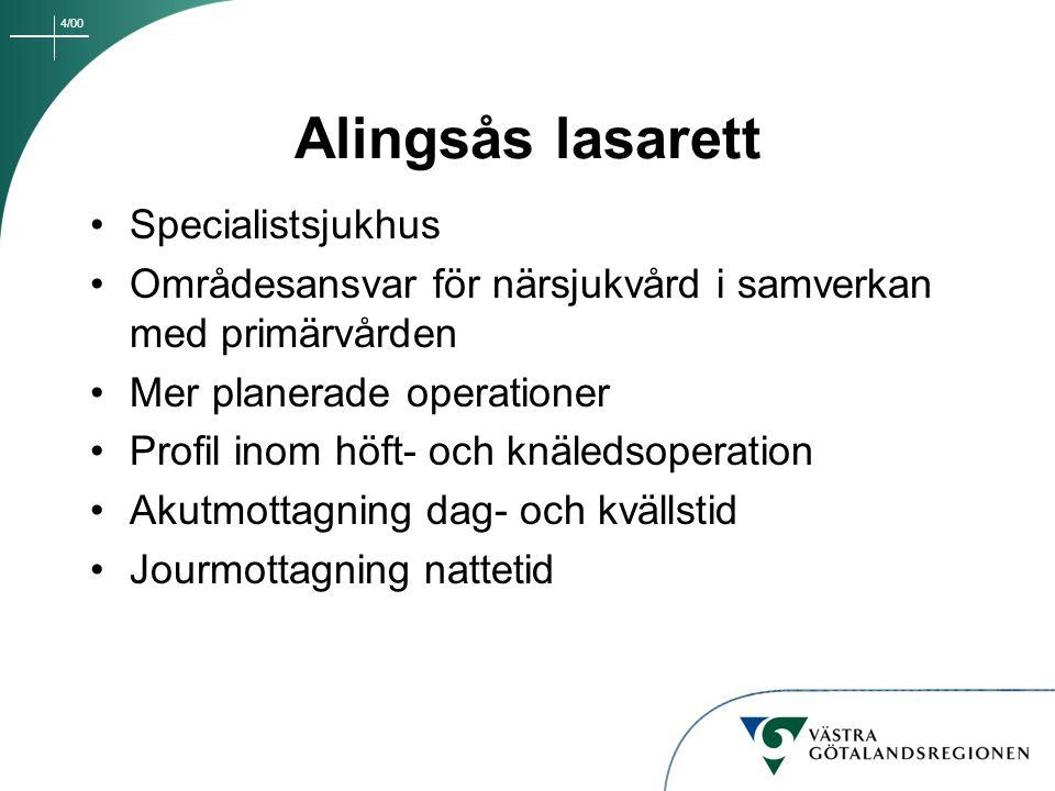 Alingsås lasarett Specialistsjukhus