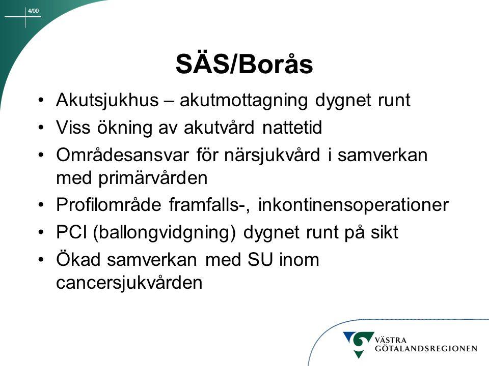 SÄS/Borås Akutsjukhus – akutmottagning dygnet runt