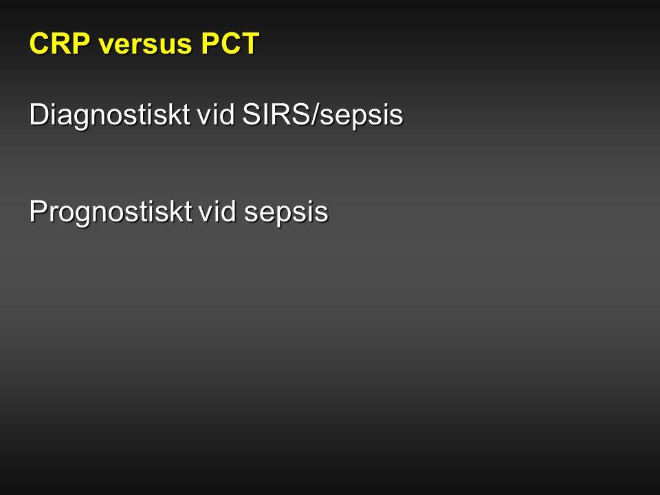 Diagnostiskt vid SIRS/sepsis