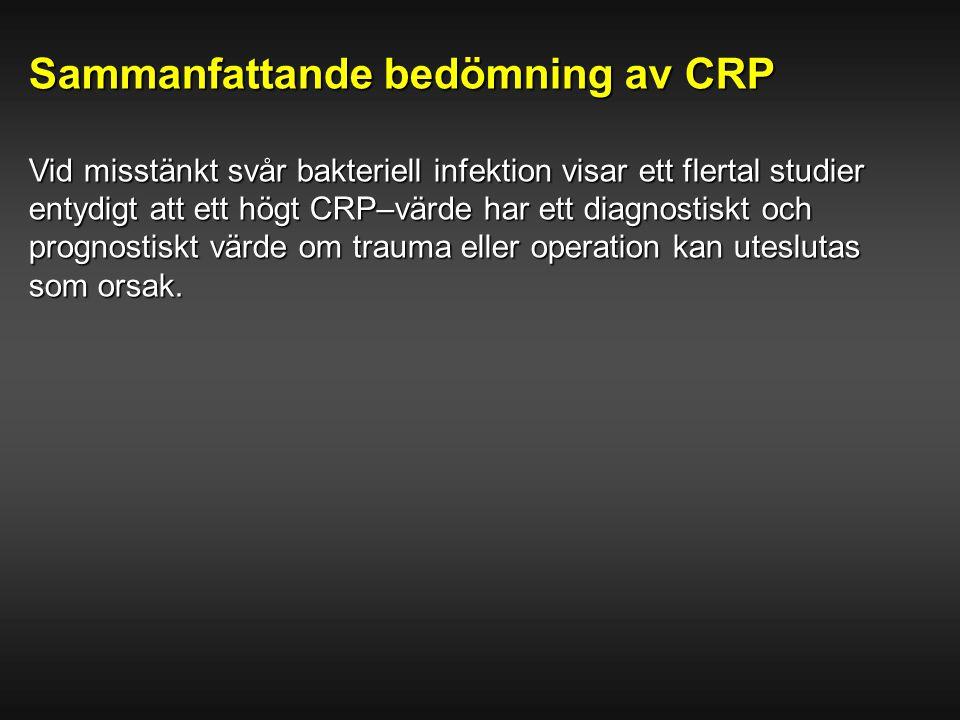 Sammanfattande bedömning av CRP