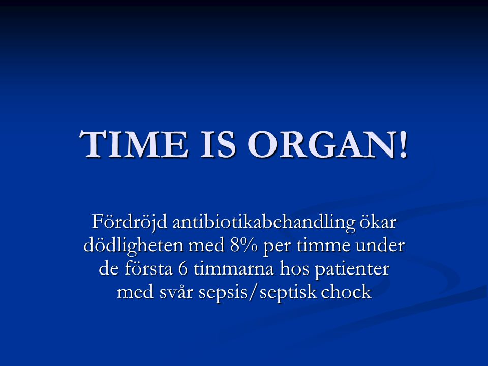 TIME IS ORGAN!