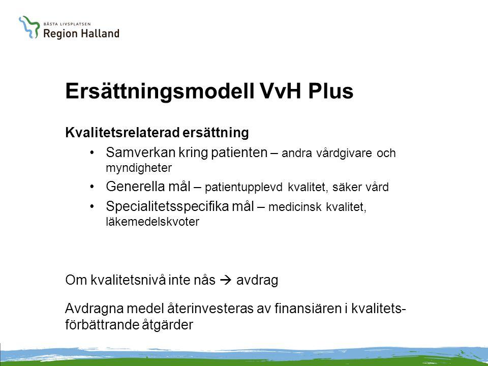 Ersättningsmodell VvH Plus