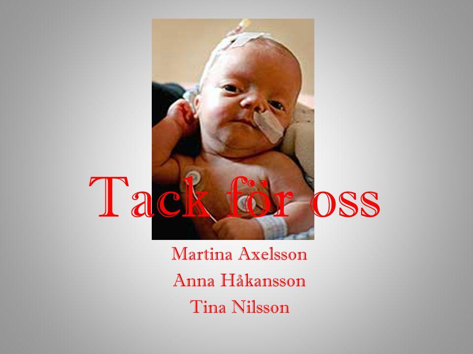 Martina Axelsson Anna Håkansson Tina Nilsson