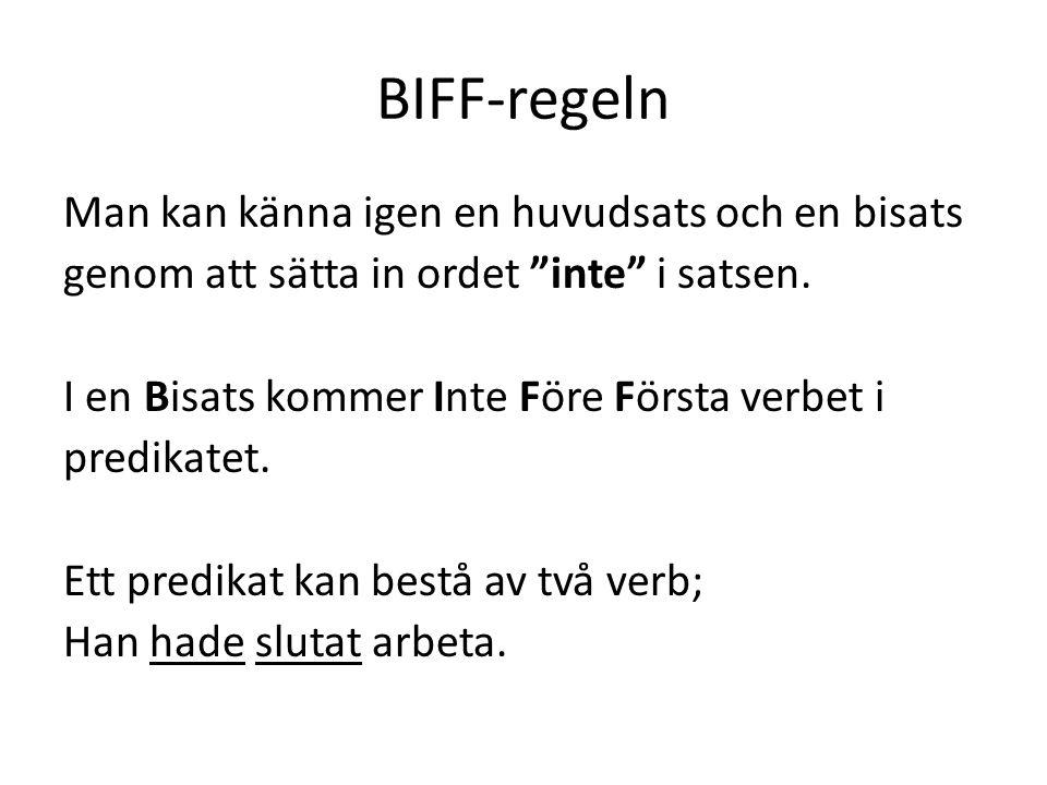 BIFF-regeln