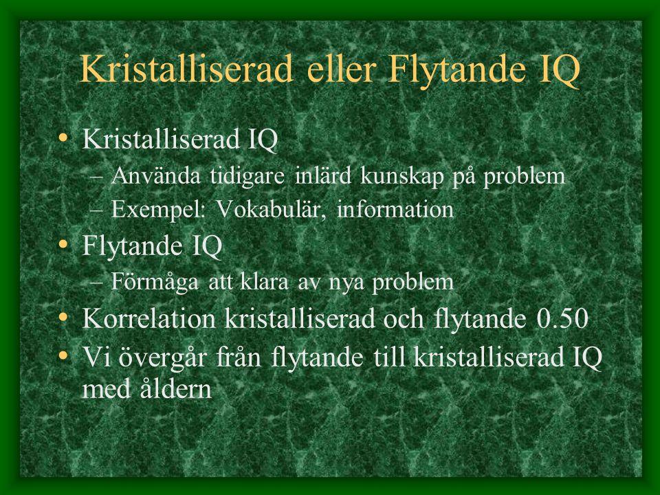 Kristalliserad eller Flytande IQ