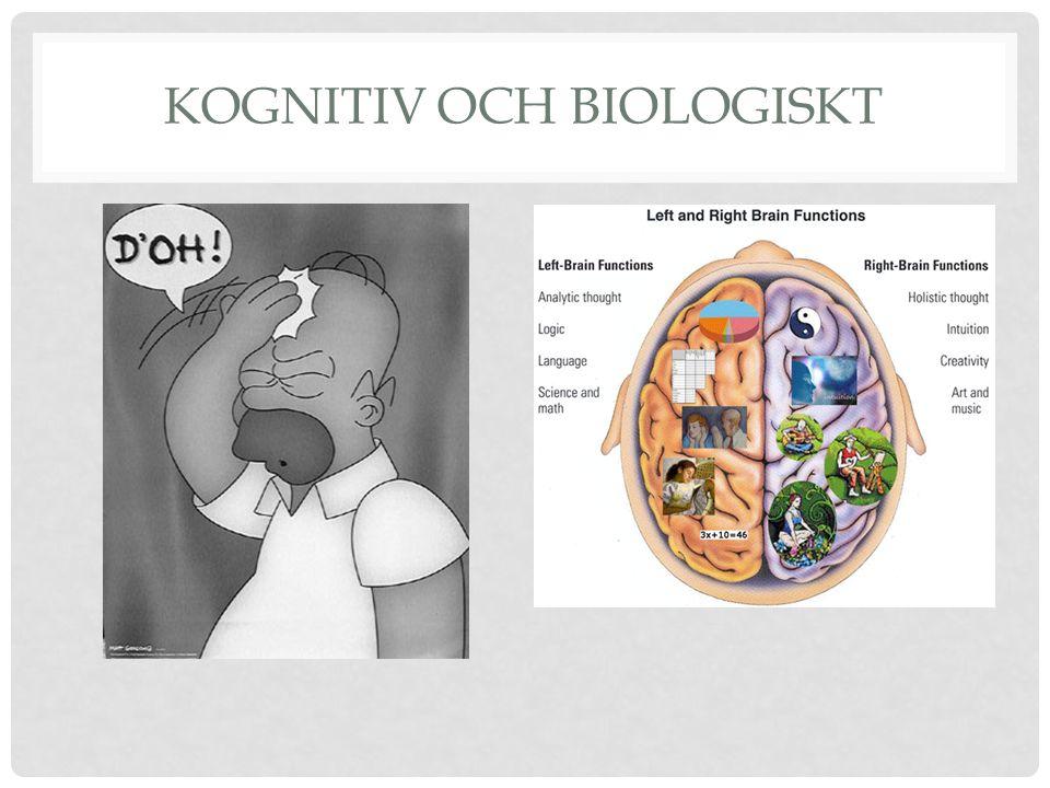 Kognitiv och biologiskt