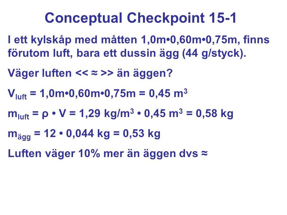 Conceptual Checkpoint 15-1