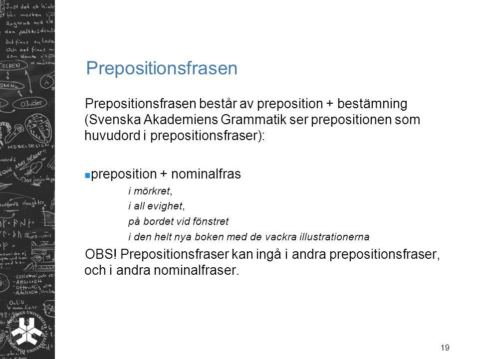 Prepositionsfrasen