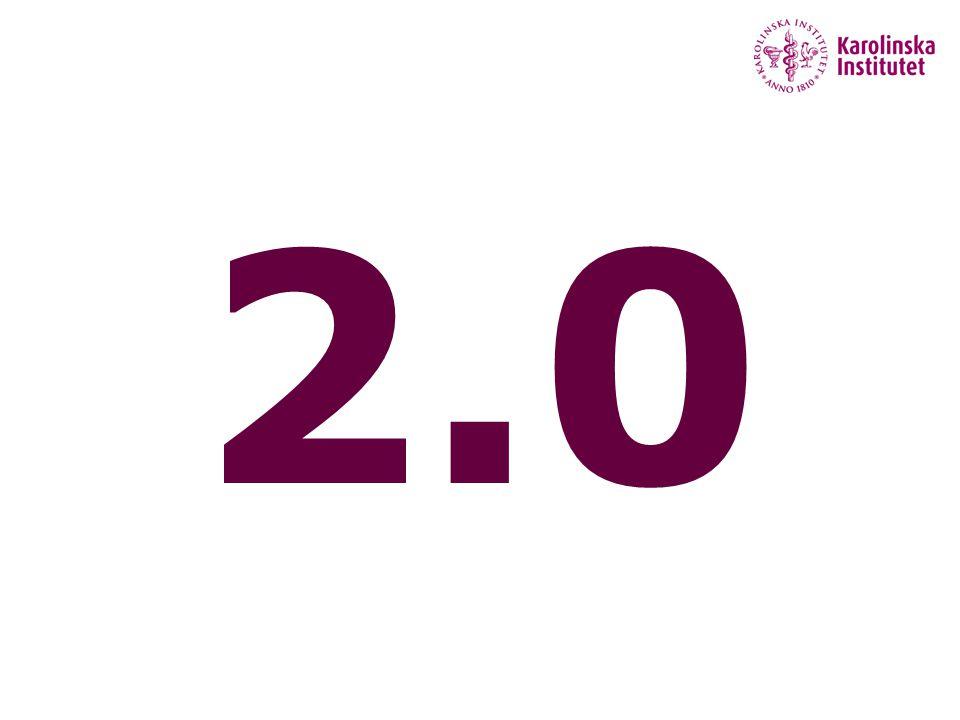 2.0 Grupp diskussion –Vad betyder det här begreppet 5 minuter