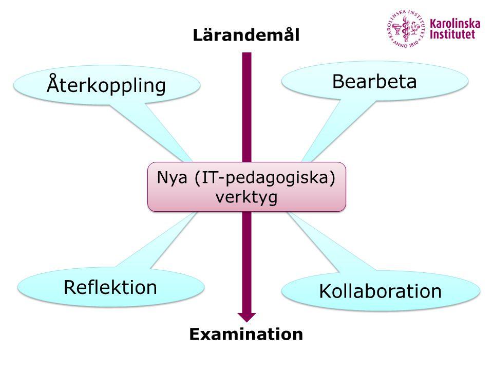 Nya (IT-pedagogiska) verktyg