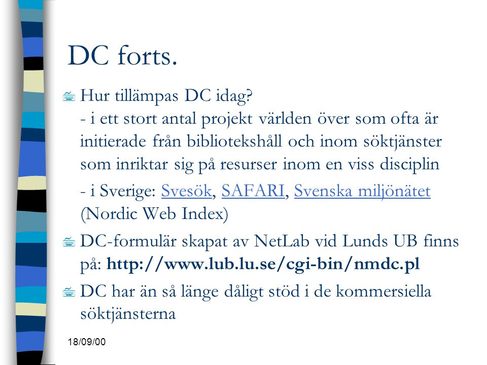 DC forts.