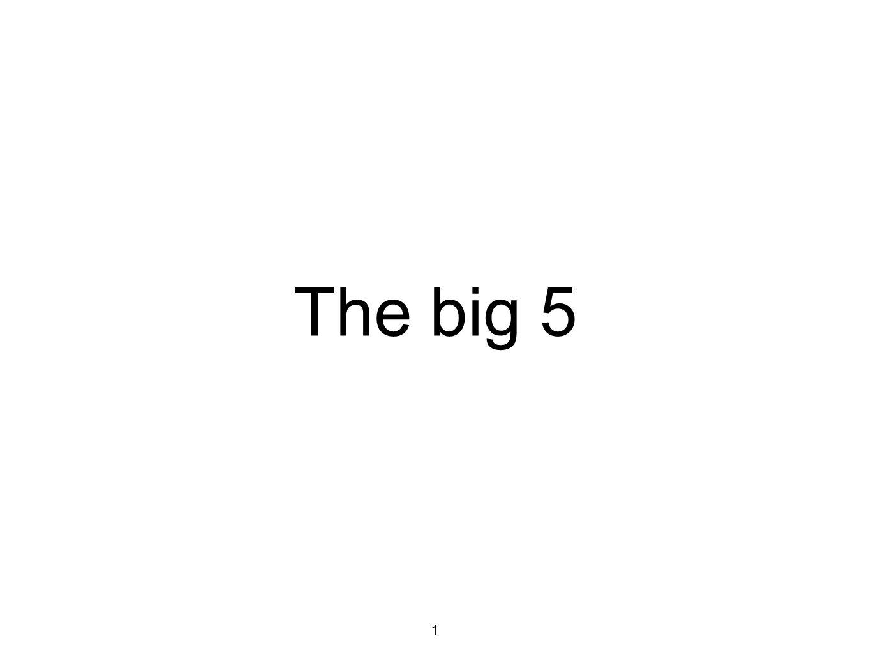 The big 5 1