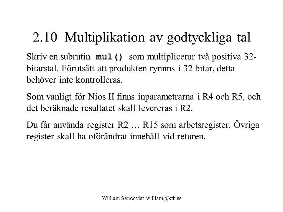2.10 Multiplikation av godtyckliga tal