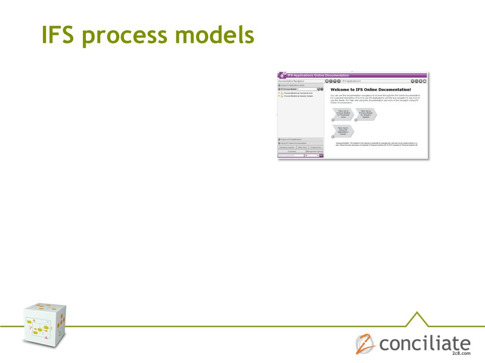 IFS process models