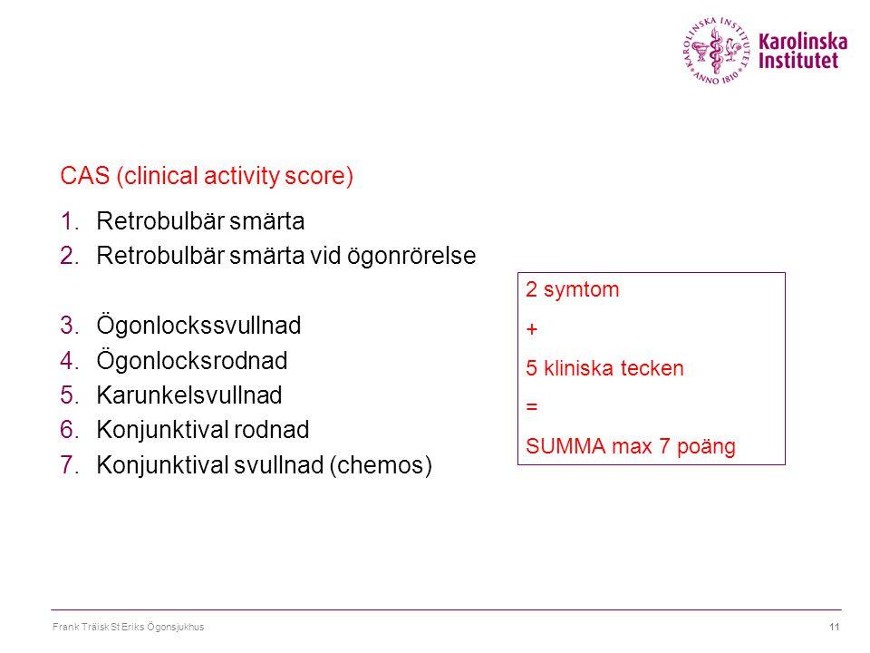CAS (clinical activity score)